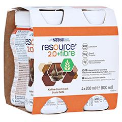 RESOURCE 2.0 fibre Kaffee 4x200 Milliliter
