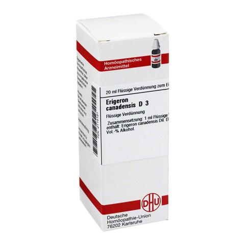 ERIGERON canadensis D 3 Dilution 20 Milliliter N1