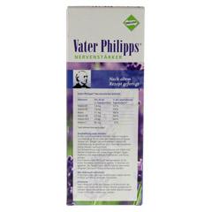 VATER PHILIPPS Nervenst�rker Liquidum 500 Milliliter - R�ckseite