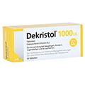 DEKRISTOL 1.000 I.E. Tabletten 50 St�ck N2