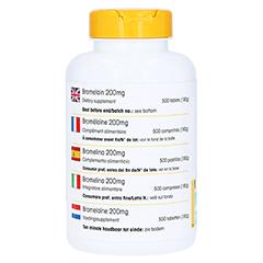 BROMELAIN 200 mg magensaftresistente Tabletten 500 Stück - Rechte Seite