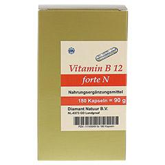 VITAMIN B12 forte N Kapseln 180 Stück - Vorderseite