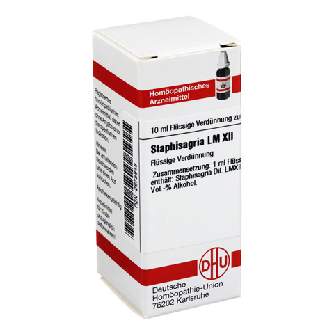LM STAPHISAGRIA XII Dilution 10 Milliliter N1