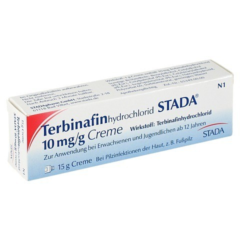 Terbinafinhydrochlorid STADA 10mg/g 15 Gramm N1