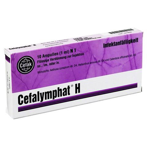 CEFALYMPHAT H Ampullen 10x1 Milliliter N1