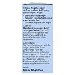 SILILEVO Nagellack 6.6 Milliliter - Rechte Seite