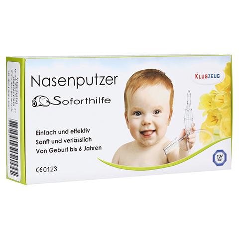 KLUGZEUG Nasenputzer Soforthilfe Nasensauger 1 Stück