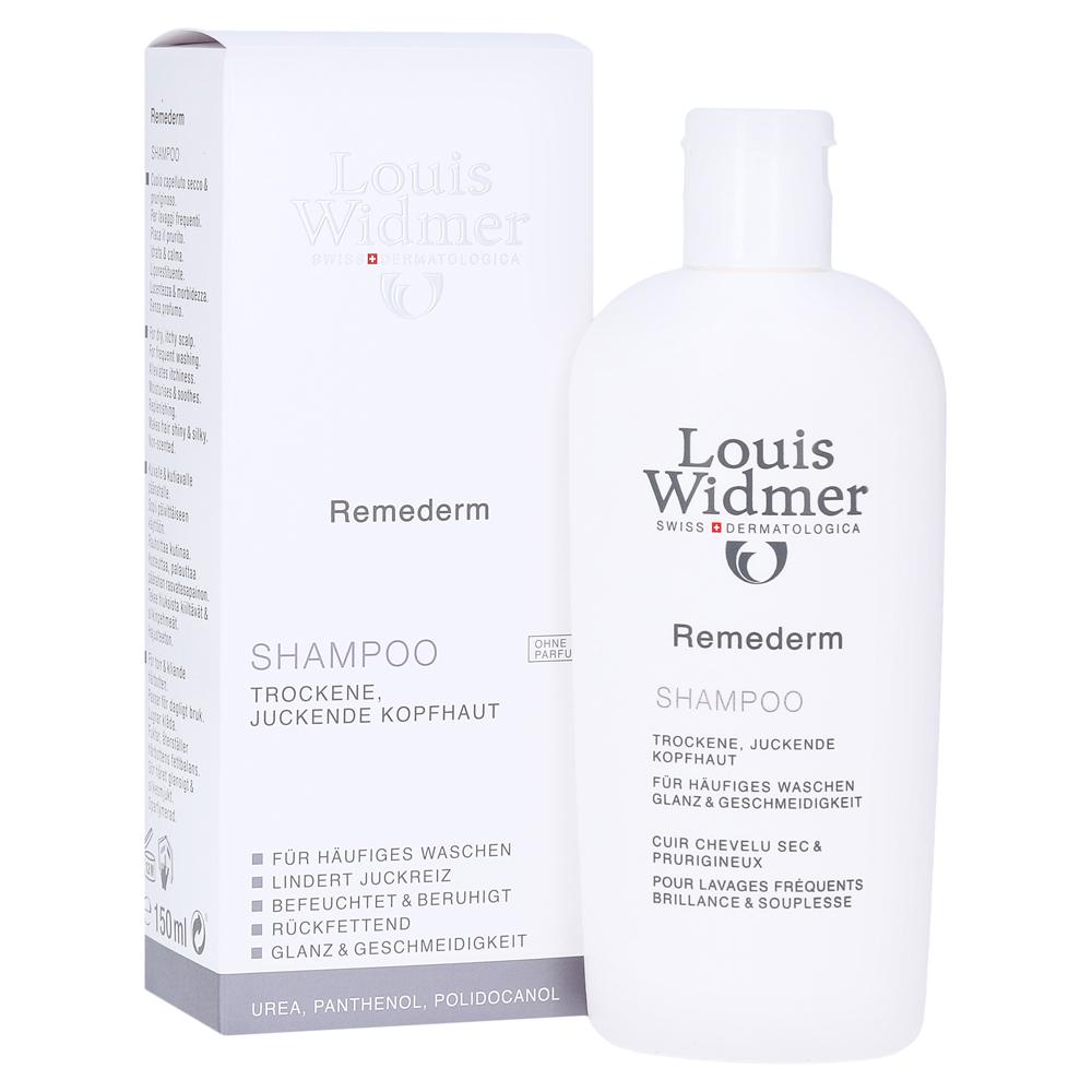 WIDMER Remederm Shampoo unparfümiert 150 Milliliter online ...
