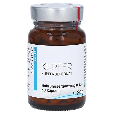 KUPFER 2 mg aus Kupfersulfat Kapseln 60 Stück