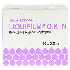 LIQUIFILM O.K. N Augentropfen 30x0.6 Milliliter - Vorderseite