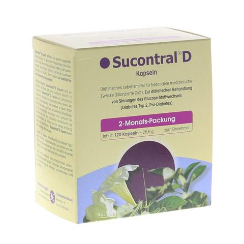 SUCONTRAL D Diabetiker Kapseln 120 Stück