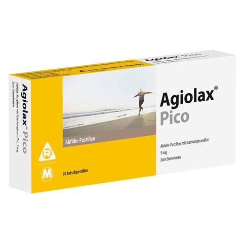 Agiolax Pico Madaus Abführ-Lutschpastillen 20 Stück
