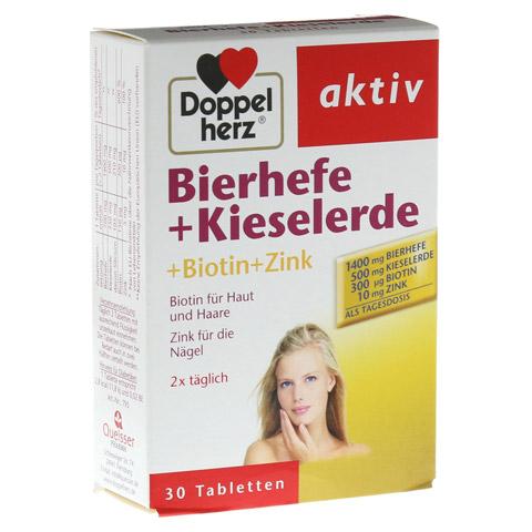 DOPPELHERZ Bierhefe+Kieselerde Tabletten 30 Stück