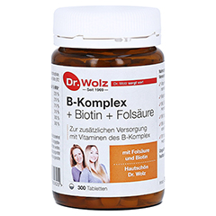 B KOMPLEX+Biotin+Fols�ure Tabletten 300 St�ck