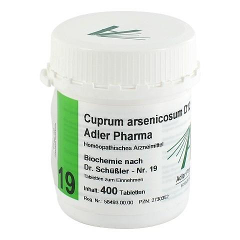 BIOCHEMIE Adler 19 Cuprum arsenicosum D 12 Tabl. 400 Stück