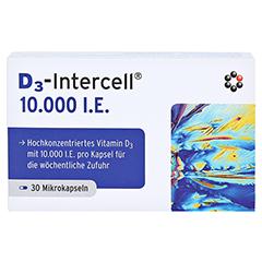 D3-INTERCELL 10.000 I.E. Kapseln 30 Stück - Vorderseite