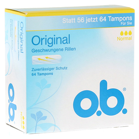 O.B. Tampons Original normal 64 Stück