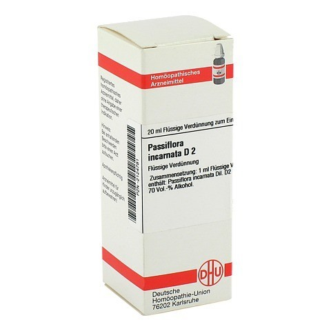 PASSIFLORA INCARNATA D 2 Dilution 20 Milliliter N1