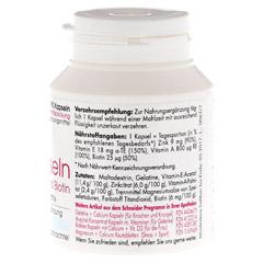 ZINK KAPSELN mit Vitamin E.A.Biotin 90 Stück - Rechte Seite