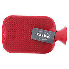 FASHY Wärmflasche Doppellamelle cranberry 6460 42 1 Stück