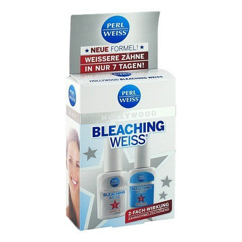 PERLWEISS Bleaching Weiß Hollywood 2x10 Milliliter