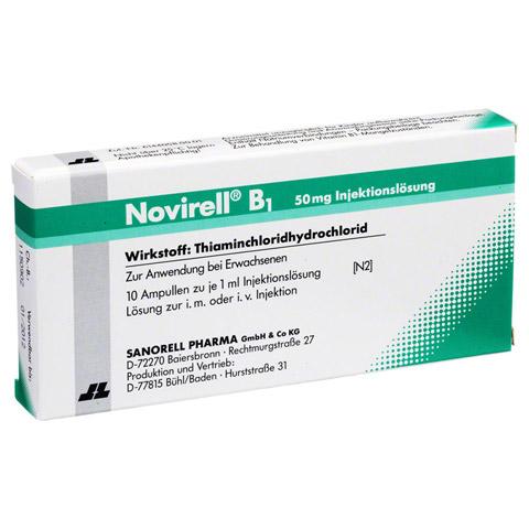 NOVIRELL B1 50 mg Injektionsl�sung 10x1 Milliliter N2