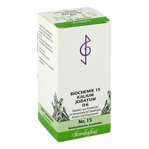 BIOCHEMIE 15 Kalium jodatum D 6 Tabletten 200 Stück N2