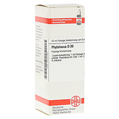 PHYTOLACCA D 30 Dilution 20 Milliliter N1