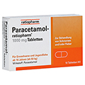 Paracetamol-ratiopharm 1000mg 10 St�ck N1