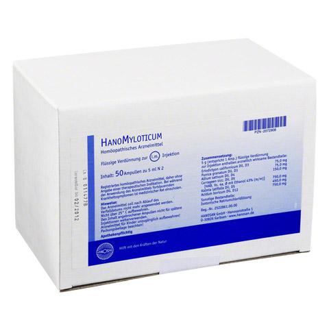 HANOMYLOTICUM Injektionslösung 50x5 Milliliter N2