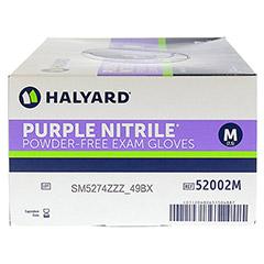 SAFESKIN Purple Nitrile Unt.Handsch.M 100 Stück - Linke Seite