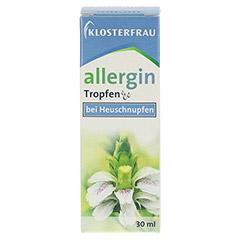 KLOSTERFRAU Allergin flüssig 30 Milliliter - Vorderseite