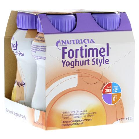 FORTIMEL Yoghurt Style Pfirsich Orangegeschmack 4x200 Milliliter