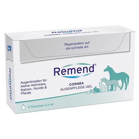 REMEND Cornea Augenpflege-Gel f.Hund/Katze/Pferd 6x3 Milliliter