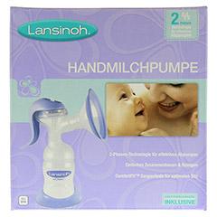LANSINOH Handmilchpumpe Weithals 1 Stück - Vorderseite