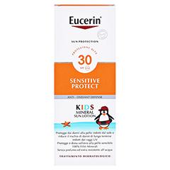 EUCERIN Sun Kids Micropigment Lotion LSF 30 150 Milliliter - Rückseite