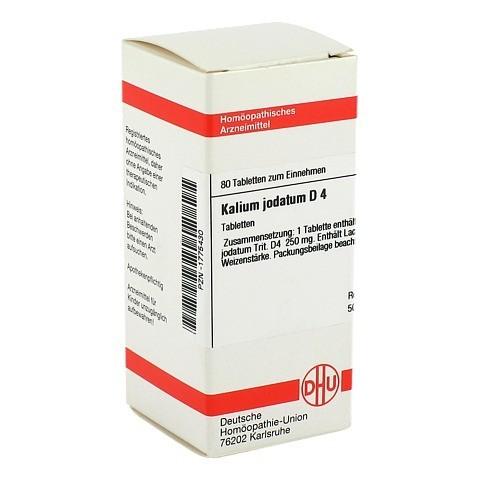 KALIUM JODATUM D 4 Tabletten 80 St�ck N1