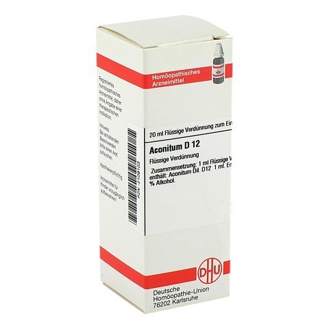 ACONITUM D 12 Dilution 20 Milliliter N1