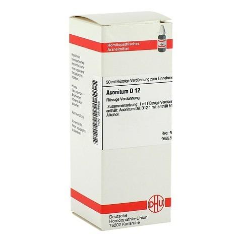 ACONITUM D 12 Dilution 50 Milliliter N1
