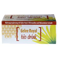 GELEE ROYAL Bio Drink Trinkfläschchen 20x10 Milliliter - Vorderseite