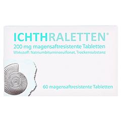ICHTHRALETTEN magensaftresistente Tabletten 60 Stück - Vorderseite