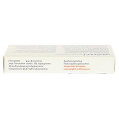 RATIOGRIPPAL 200 mg/30 mg Filmtabletten 10 Stück - Oberseite