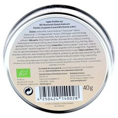 INGWER GINJER Pastillen Bio 40 Gramm - R�ckseite