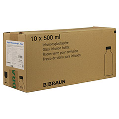RINGER L�SUNG B.Braun Glas Infusionsl�sung 10x500 Milliliter N2