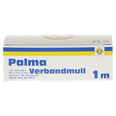 PALMA Verbandmull 80 cm 1 m zickzack Lagen 1 Stück - Vorderseite