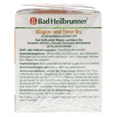 BAD HEILBRUNNER Tee Magen und Darm Pyramidenbeutel 15 Stück - Linke Seite