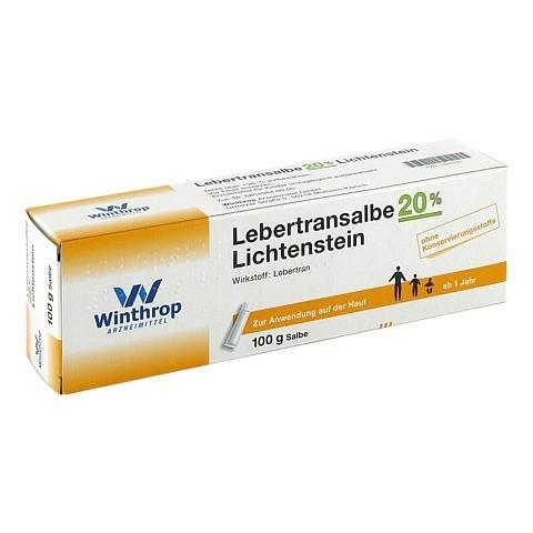 Lebertransalbe 20% Lichtenstein 100 Gramm