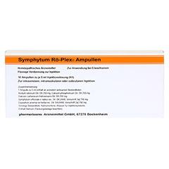 SYMPHYTUM RÖ Plex Ampullen 10x5 Milliliter N1 - Vorderseite