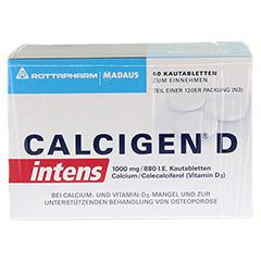 CALCIGEN D intens 1000 mg/880 I.E. Kautabletten 120 Stück N3 - Vorderseite