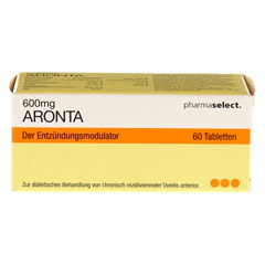 ARONTA 600 mg Tabletten 60 Stück - Vorderseite